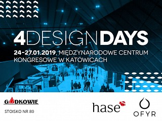 OFYR i HASE na 4 Design Days 2019